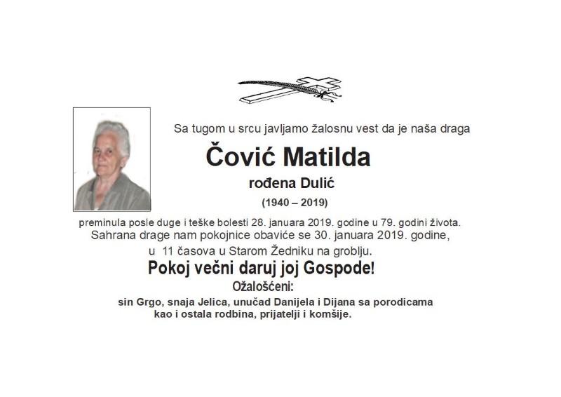 ČOVIĆ MATILDA