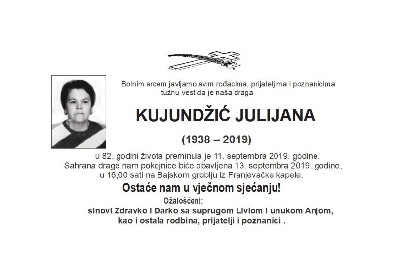 KUJUNDŽIĆ JULIJANA -Kersko