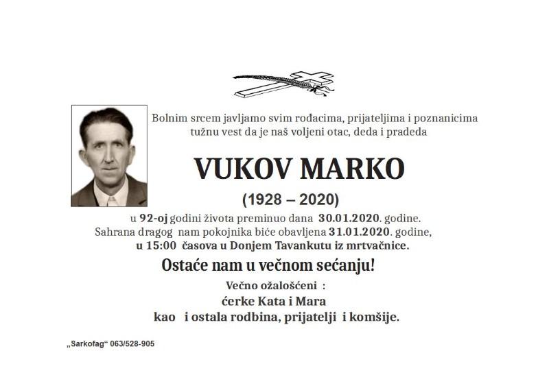 VUKOV MARKO D.TAVANKUT