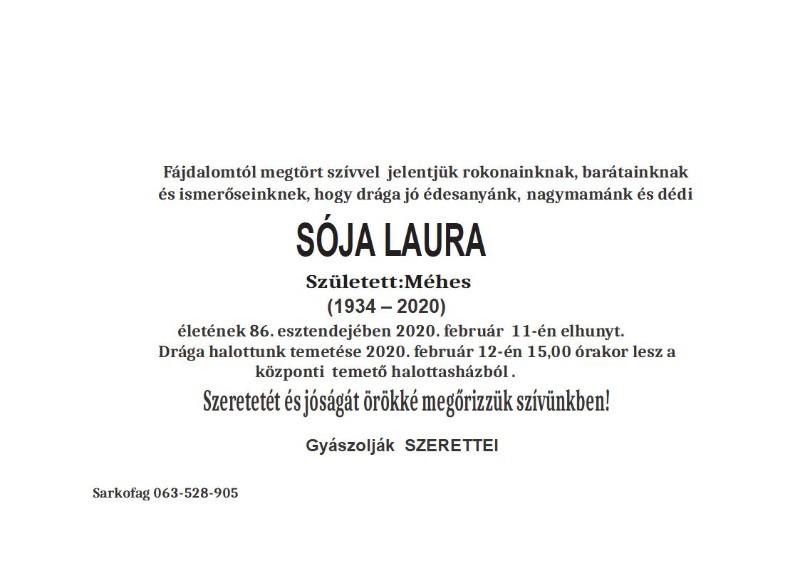 SOJA LAURA S.MORAVICA BEZ SLIKE I KRSTA