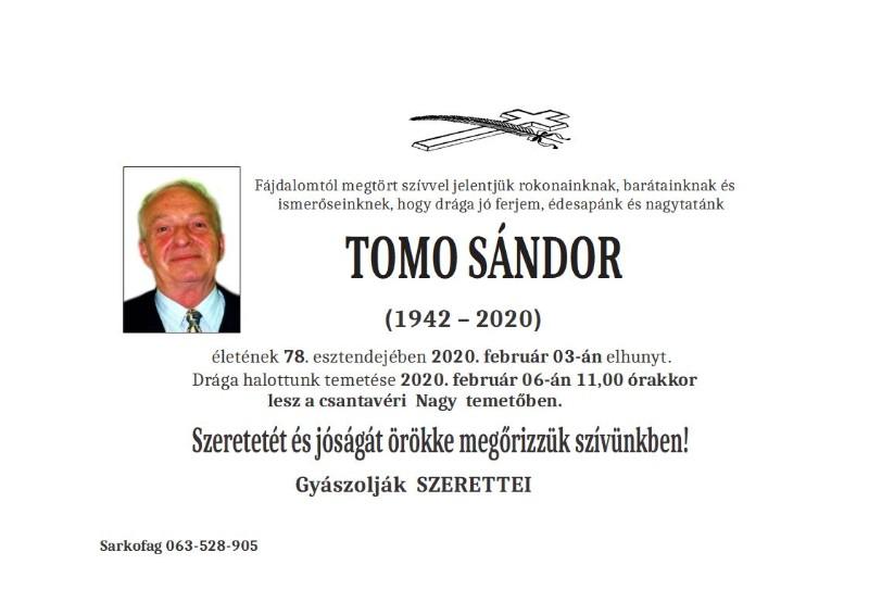 TOMO ŠANDOR -CANTAVIR