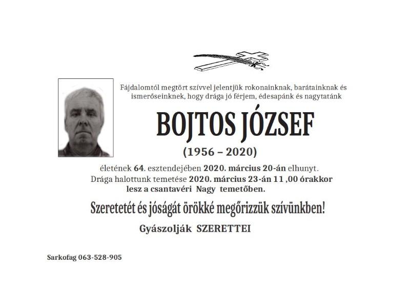BOJTOS JOZSEF-CANTAVIR
