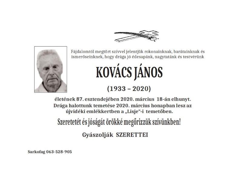 KOVAC JANOS