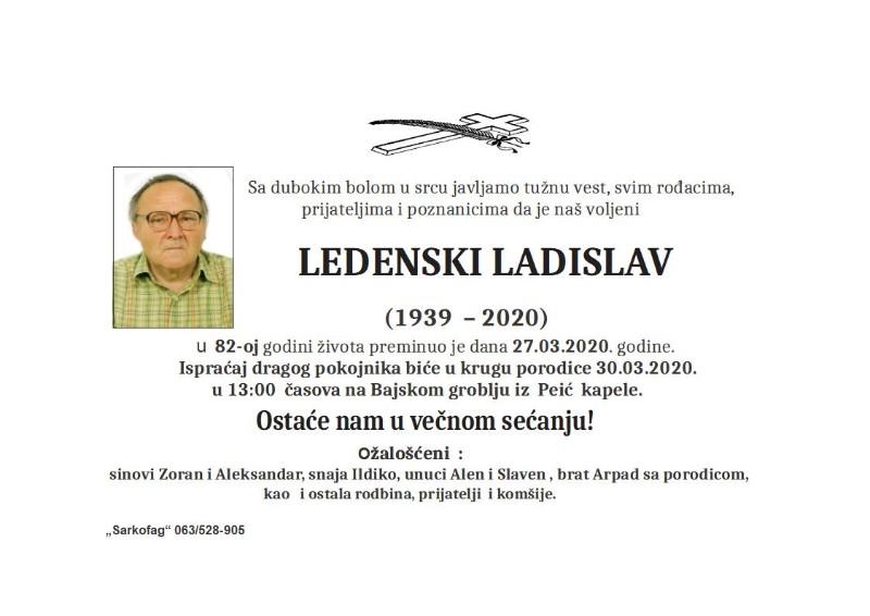 LADISLAV LEDENSKI 1