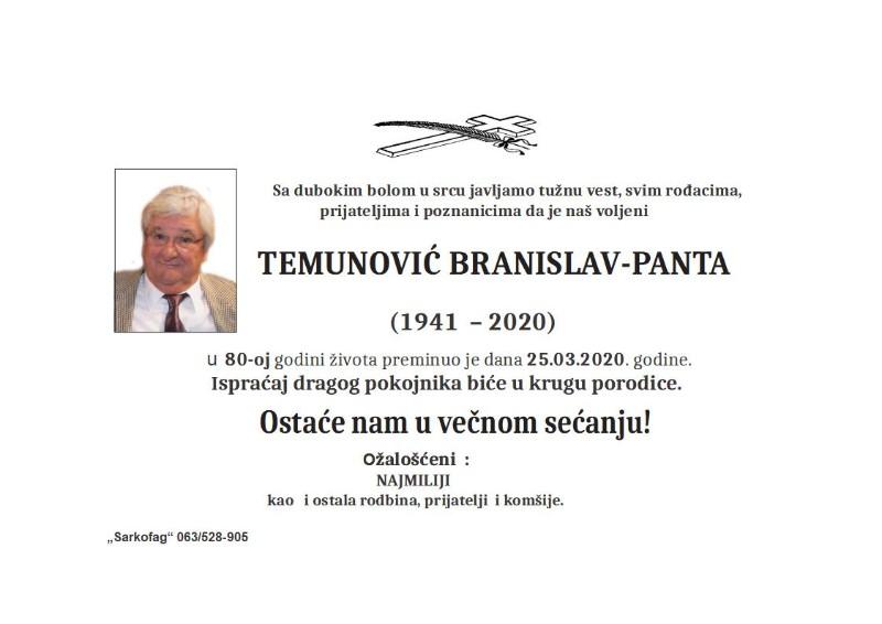 TEMUNOVIĆ PANTA