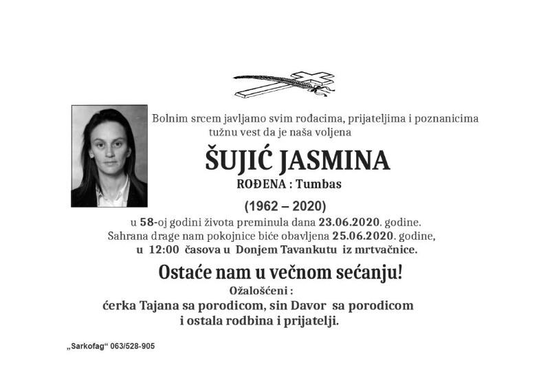 ŠUJIĆ JASMINA