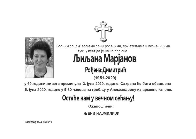 LJILJANA MARJANOV1