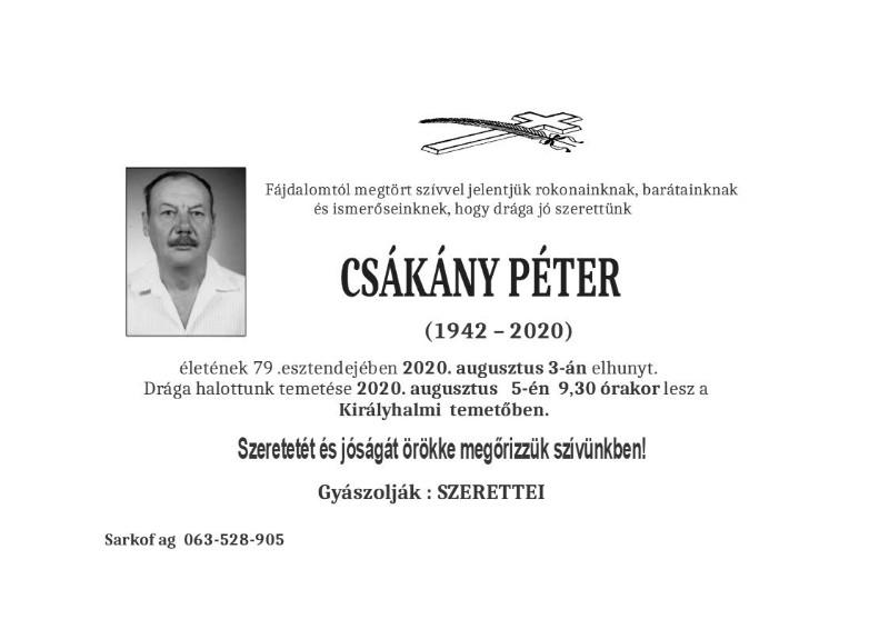 CAKANJ PETER