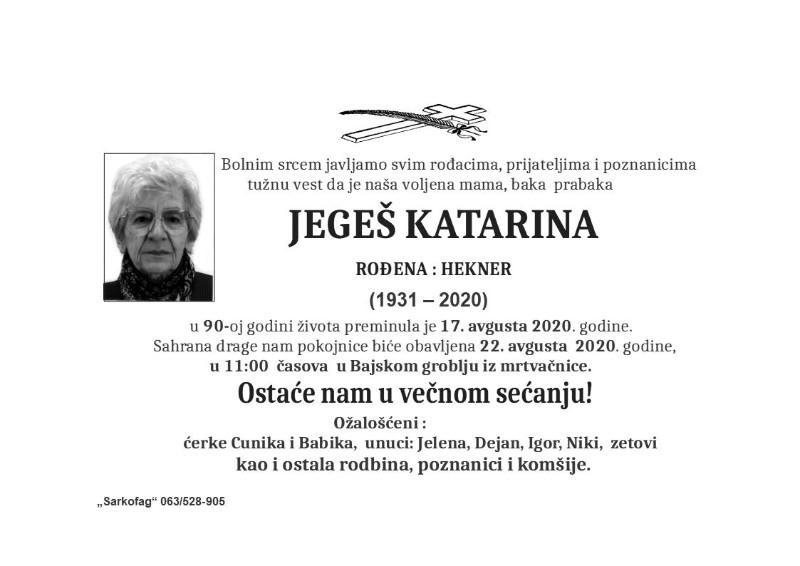 JEGEŠ KATARINA1