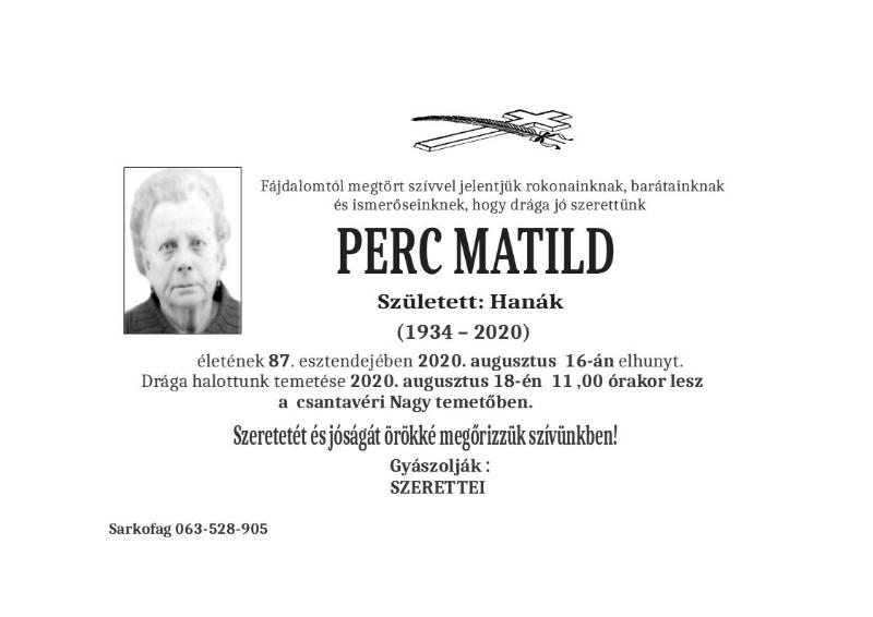 PERC MATILD