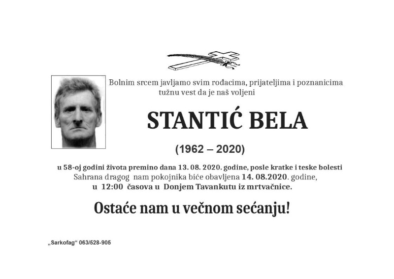 STANTIĆ BELA