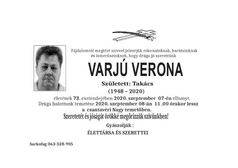 VARJU VERONA 2